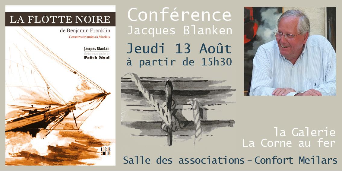 La Flotte Noire de Benjamin Franklin - Conférence de Jacques Blanken